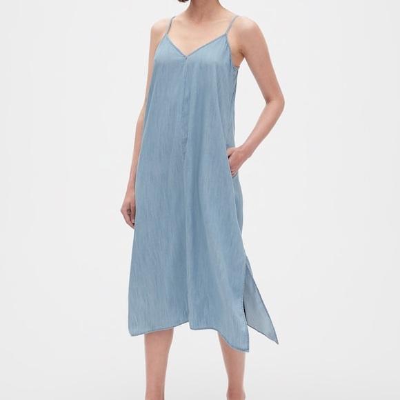 7c46d5c1b05 Cami Handkerchief Midi Dress in TENCEL™. GAP. M 5cb90fa9d40008c2f3656fef.  M 5cb90fb5138e188d8bc3140c. M 5cb90fc7264a55f40545be08.  M 5cb9137a79df27882ba6fceb